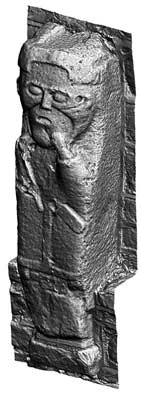 Early Christian Carved Figure 4, White Island (3D Model)
