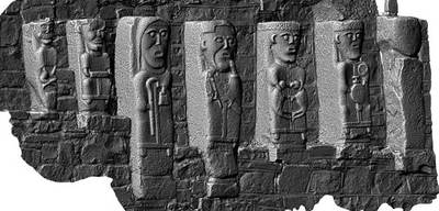 Early Christian Carved Figures, White Island, Co. Fermanagh (3D Model)