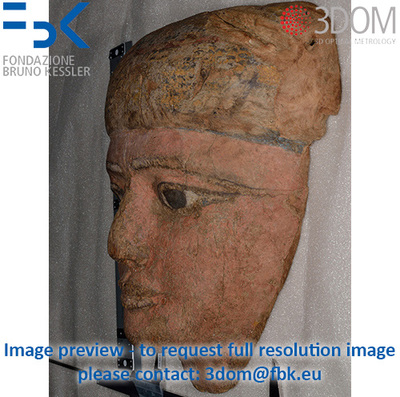 Maschera da sarcofago - Image