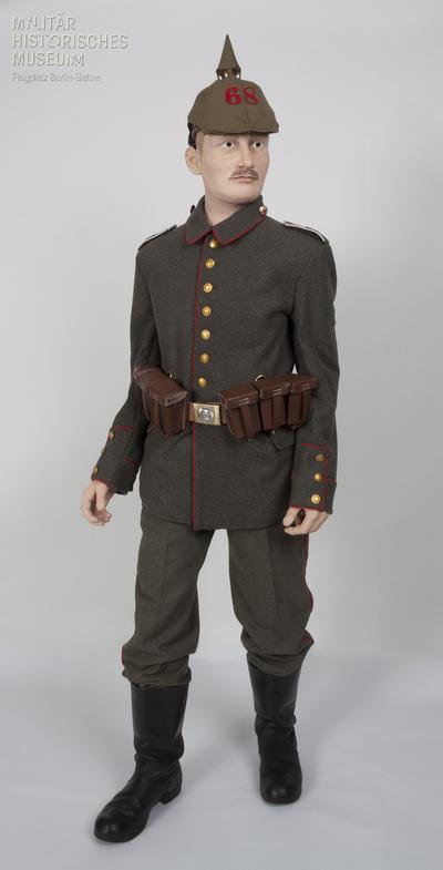 14.08.1914 - Peter beim 6. Rheinischen Infanterieregiment Nr. 68