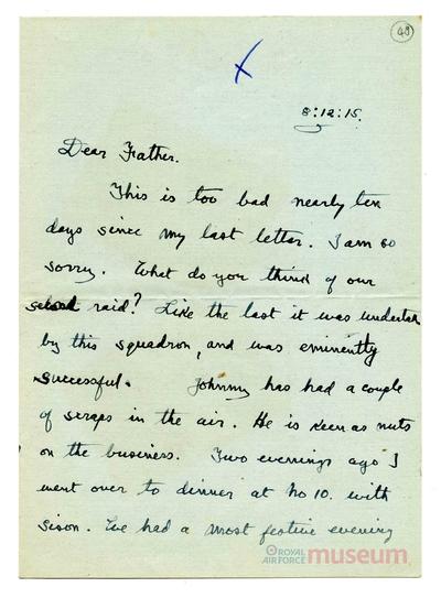 08.12.1915 - Bernard verfehlt ein Ziel
