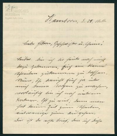 24.10.1916 - Peter ist im Papier begraben