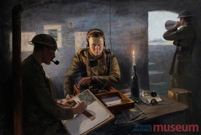 15.09.1916 - Bernard: RFC Artilleriebeobachtung, Teil 3
