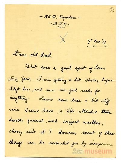 09.03.1917 - Bernard auf Heimaturlaub