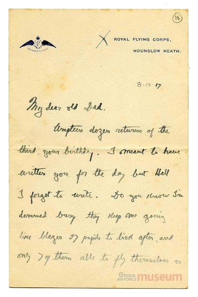 08.10.1917 - Bernards neue Rekruten