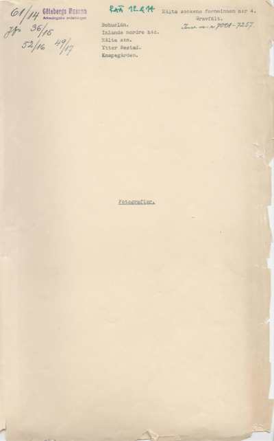bilaga, rapport, arkeologisk arkivrapport, arkeologisk rapport
