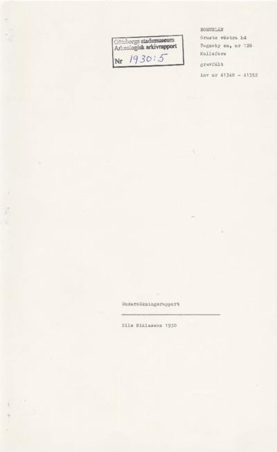 rapport, arkeologisk arkivrapport, arkeologisk rapport