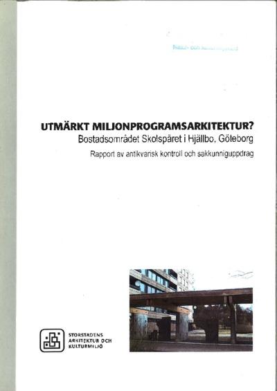 rapport, bebyggelsehistorisk rapport