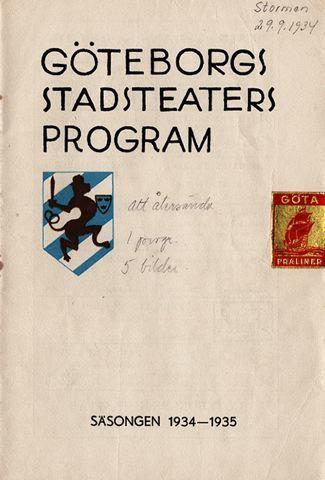 Stormen, 1934, The tempest [orig. tit.], Stormen