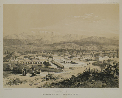 View of Tarsus in Cilicia.
