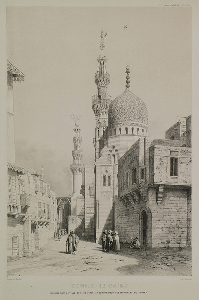 Mosque at Cairo, Egypt, included in this edition so that it could be compared to similar monuments of Konya.
