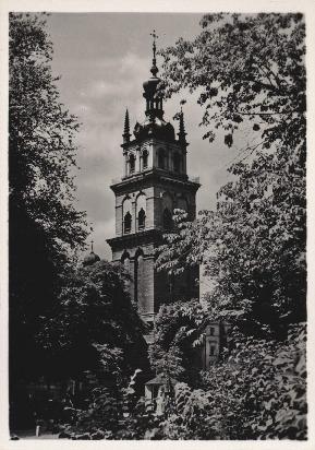 Lwów. Wieża cerkwi wołoskiej