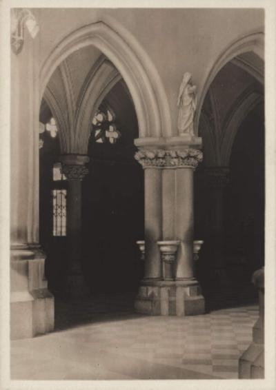 Lwów. Kościół Św. Elżbiety, fragment wejścia