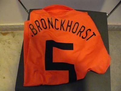 Oranje shirt Van Bronckhorst