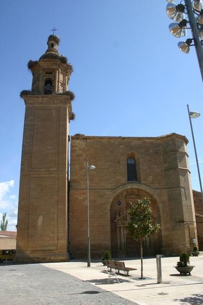 [R_Agoncillo_SantaMaria] Estudio topográfico de las deformaciones del conjunto arquitectónico de la iglesia de Nuestra Señora de la Blanca (Agoncillo, La Rioja) [Julio 2007 – Octubre 2009]