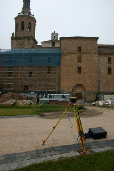[R_SanMillan_Yuso] Documentación geométrica de las excavaciones arqueológicas realizadas en el Monasterio de Yuso (San Millán de la Cogolla, La Rioja)