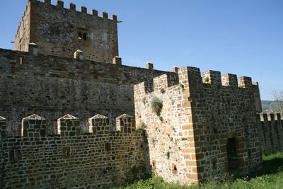 [B_Muskiz_Muñatones] Documentación geométrica de la muralla interior del Castillo de Muñatones (Muskiz, Bizkaia)