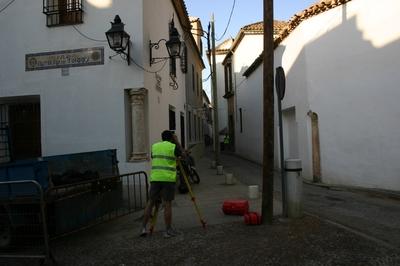 [C_Cordoba_Teatro] Documentación geométrica de los restos del Teatro Romano de Córdoba