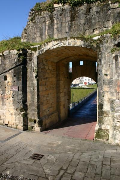 [G_Hondarribia_Muralla] Documentación geométrica de las murallas de Hondarribia