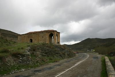[R_Enciso_Concepcion] Levantamiento topográfico de la ermita y el crucero de la Concepción (Enciso, La Rioja)