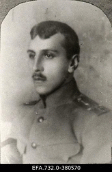 Vene 33.Jalaväediviisi 131.Tiraspoli polgu ohvitser staabikapten                      Dõlevski.