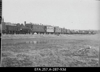 Laiarööpaline soomusrong nr 2 1919. aasta kevadel.