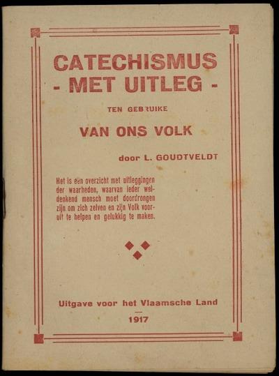 Catechismus met uitleg ten gebruike van ons volk