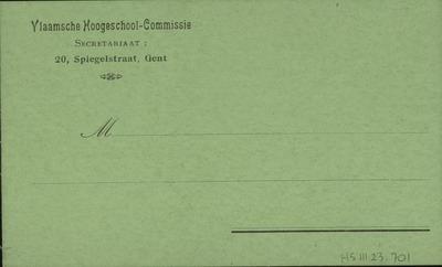 Vlaamsche Hoogeschool-Commissie
