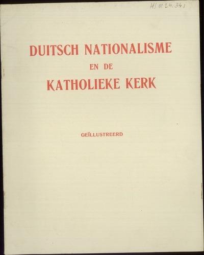 Duitsch nationalisme en de Katholieke Kerk geïllustreerd