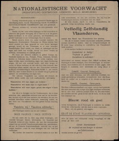 Nationalistische Voorwacht (Wijkafdeeling Gentbrugge - Ledeberg - Melle - Meirelbeke)