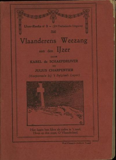 Vlaanderens weezang aan den IJzer