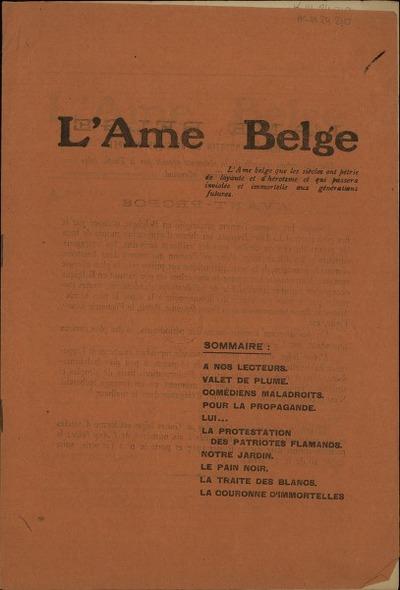 L'Ame Belge