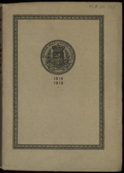 Aux étudiants morts pour la patrie 1914-1918