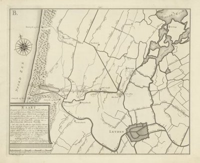 RIJNLAND en aangrenzende waterschappen >> Plan voor de aanleg van een watergang van Katwijk aan Zee naar Warmond tot lozing van Rijnlands boezemwater,