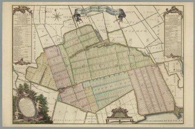 RIJNLAND en aangrenzende waterschappen >> Het drooggemaakte gebied tussen Hazerswoude, Benthuizen en Waddinxveen,