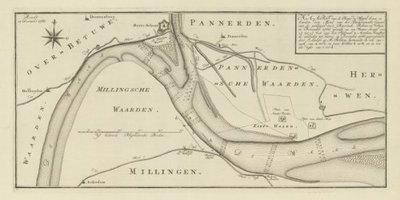 WAAL >> De Waal bij Pannerden,