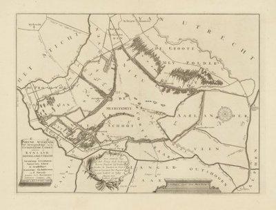 RIJNLAND en aangrenzende waterschappen >> Het uitgeveende (plassengebied) rondom Zevenhoven,