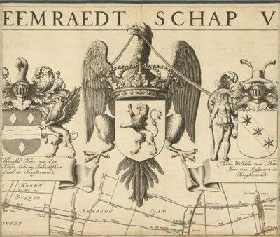 SCHIELAND >> Wandkaart van Schieland,