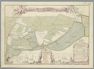 DELFLAND >> Noord-, Zuid- en Westpolder onder Berkel-Rodenrijs.