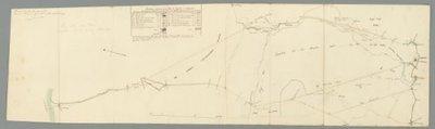 NOORD-BRABANT >> Plan voor de aanleg van een weg van Breda naar de Moerdijk,