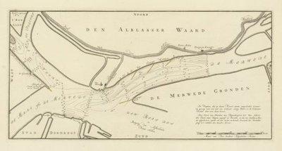 MERWEDE >> Beneden-Merwede bij Papendrecht en Dordrecht,