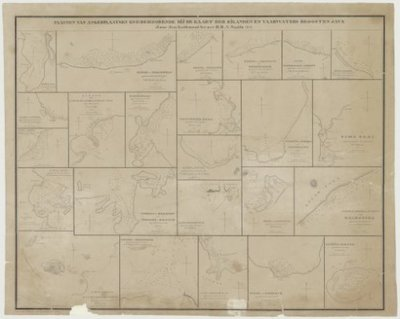 Algemeen >> Plannen van Ankerplaatsen enz. behoorende tot de voorschreven kaart.