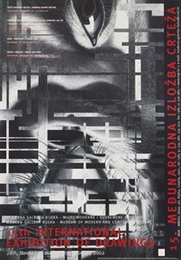 Poster for the 15th International Exhibition of Drawings