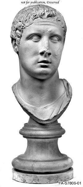 Portraitkopf eines Mannes