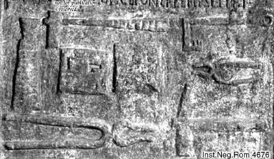Grabstele des Q. Vibius Maximus Smintius