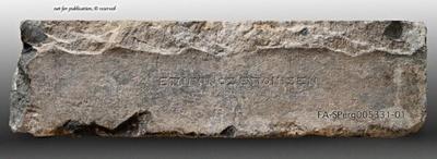Inschriftenblock