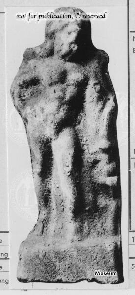 Terrakottastatuette des Herkules/Herakles