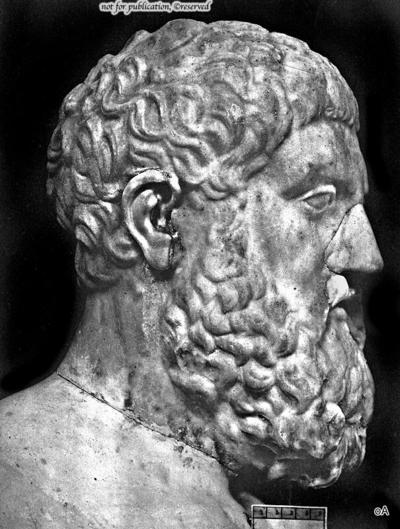 Portraitkopf des Miltiades