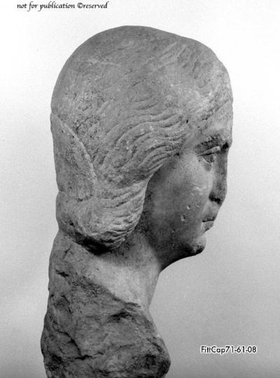 Portraitkopf einer Frau