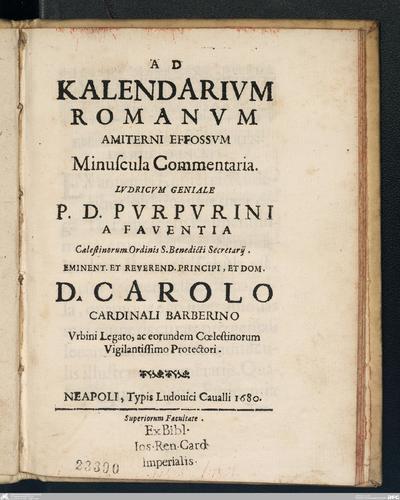 Romanae vetvstatis fragmenta in Avgvsta Vindelicorvm et eivs dioecesiRomanae vetustatis fragmenta in Augusta Vindelicorum et eius dioecesi